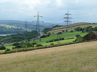 A616 road - Stocksbridge bypass