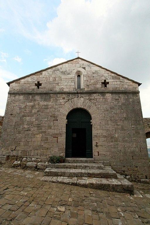Vignoni Alto, chiesa San Biagio
