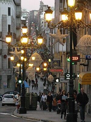 Vigo shopping street
