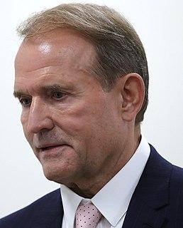 Viktor Medvedchuk Ukrainian politician, lawyer and businessman