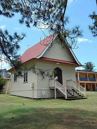 St Mark's Anglican Church and Dunwich Public Hall - St Mark's Anglican Church