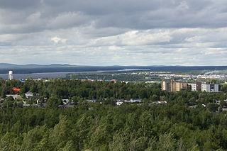 Val-dOr City in Quebec, Canada