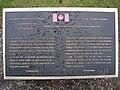 Vimy Ridge - Watkins memorial.JPG