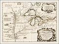 Vincenzo Coronelli Partie occidentale du Canada 1688.jpg