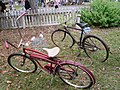 Vintage bicycles at the Cameron Antiques Fair, October 2019.jpg