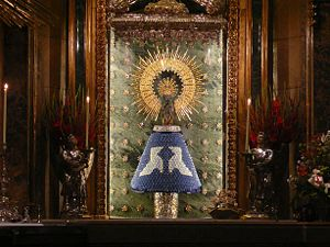 Our Lady of the Pillar - Image: Virgen del Pilar