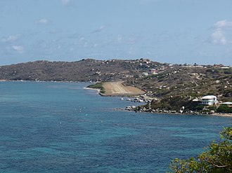 Virgin Gorda Airport - Image: Virgin Gorda Airstrip