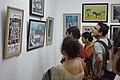 Visitors At Inaugural Day - 45th PAD Group Exhibition - Kolkata 2019-06-01 1554.JPG