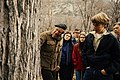 Visitors listening to a man talking about a tree in Yosemite National Park. (24e063a33c8442ca99702da830d0ab0d).jpg
