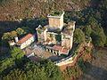 Vista aérea del castillo de Pambre 1.JPG