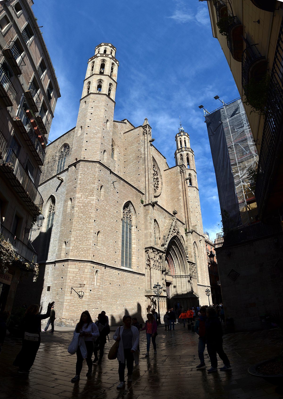 Santa Maria del Mar, Barcelona - Wikimedia Commons