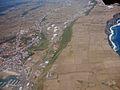 Vista parcial da cidade da Praia da Vitória, ilha Terceira, Açores, Portugal.JPG