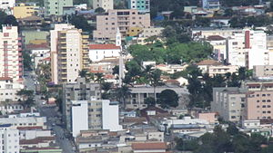 Vista parcial do Centro de Santo Antônio do Monte