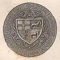 Vitaŭt Vialiki, Pahonia. Вітаўт Вялікі, Пагоня (K. Kielisiński, 1404, 1842).jpg