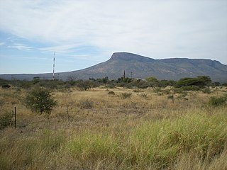 Mountain range in Limpopo, South Africa