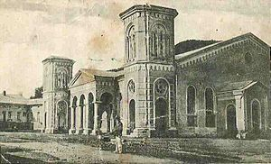 Vizhnitz (Hasidic dynasty) - The Hasidic synagogue in Vyzhnytsia.