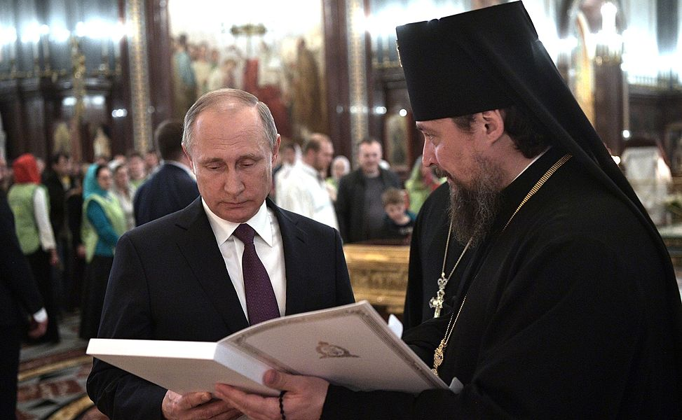 Vladimir Putin congratulated Patriarch Kirill on his name day 2017-05-24 03.jpg