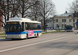 VL-busser i Västerås.