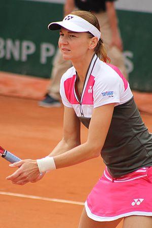 Renata Voráčová - Voráčová at the 2015 French Open