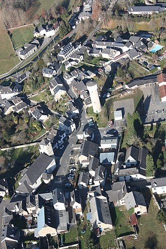 Moumour - An aerial view of the village