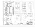 W. S. Bucknell House, 210-13 Winnebago Street, Decorah, Winneshiek County, IA HABS IOWA,96-DECOR,1- (sheet 5 of 5).png