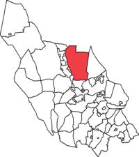 Orsa landskommune i Kobberbjerges amter