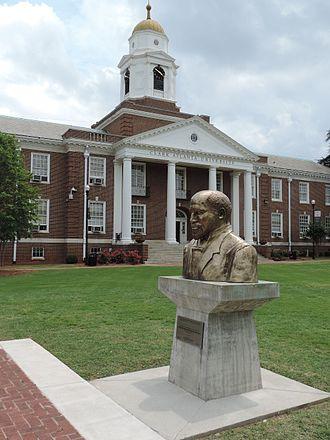 Clark Atlanta University - Bust of W.E.B. DuBois by Ayokunle Odeleye at Clark Atlanta University