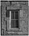 WEST WINDOW DETAIL - Kandt-Domann Farmstead, Stone House, State Route 3, Hope, Dickinson County, KS HABS KANS,21-HOPE.V,1-A-9.tif