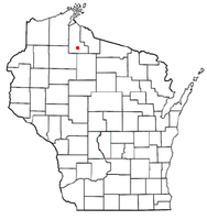 Location of Shanagolden, Wisconsin