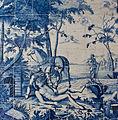 WLANL - MicheleLovesArt - Harlinger Aardewerkmuseum - Tegeltableau met bijbels tafereel (barmhartige Samaritaan), Makkum (Kingma), 18de eeuw.jpg