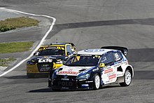 Tord Linnerud and Robin Larsson WRX 2015 Norway 007.jpg