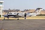 Wagners (VH-WJW) Beechcraft 350i Super King Air at Wagga Wagga Airport.jpg