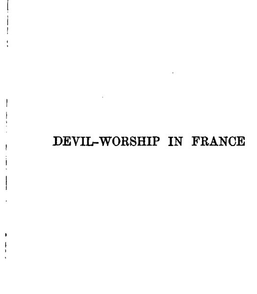 Fichier:Waite, Devil-Worship in France, 1896.djvu