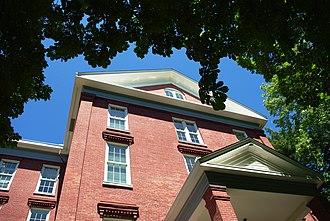 Waller Hall - Westside of the building