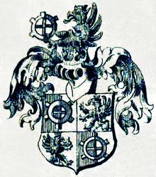 Wappen derer von miller zu aichholz 1691