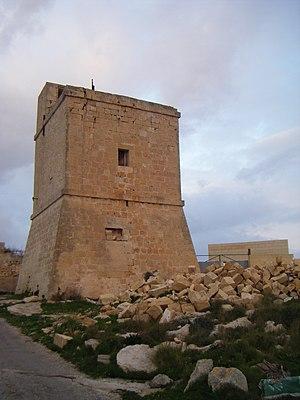 Wardija Tower - Wardija Tower viewed from the south