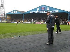 Brunton Park - Warwick Road End
