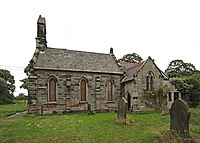Was St James Church, Pipe Ridware, now Ridware Theatre - geograph.org.uk - 927207.jpg