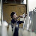 Was ophangen - Hanging out the laundry (4397796031).jpg