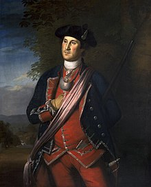 Colonel Washington, painted in 1772 by Charles Wilson Peale