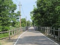 Washington Secondary Trail bridge over South Branch, Pawtuxet River, West Warwick, Rhode Island.JPG