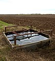 Water trough at the side of a field - geograph.org.uk - 1086947.jpg