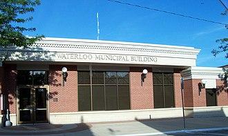 Waterloo, Wisconsin - Image: Waterloo Wisconsin Municipal Building