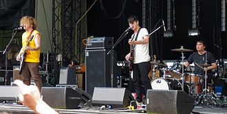 Wavves - Wavves performing at Sasquatch in 2011.