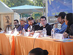 File:WeHo Book Fair 2011 - Comics to Screen and Back Again panel (6244842327).jpg