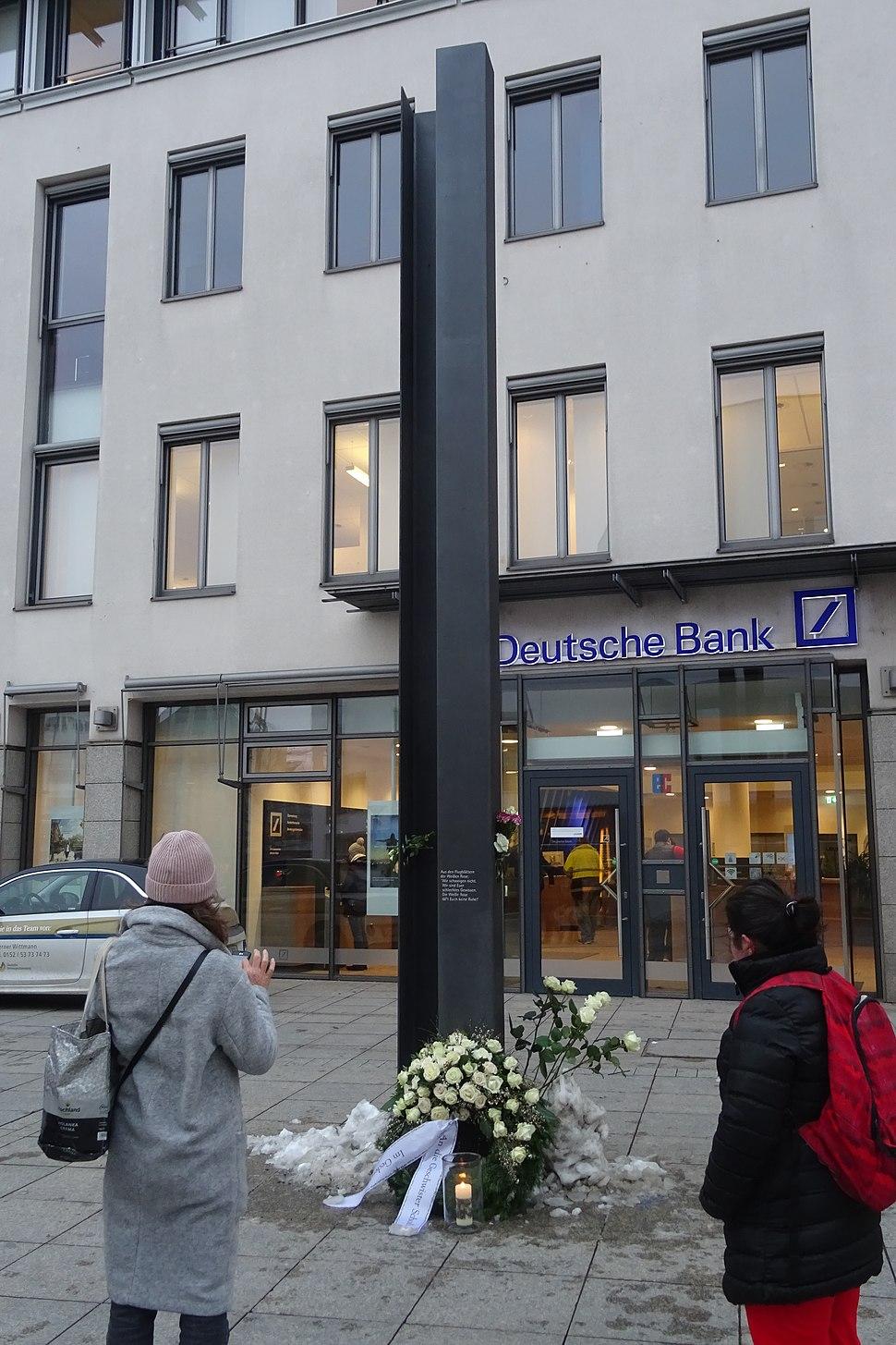 Weisse Rose2-Ulm Münsterplatz 33