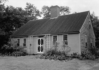 Atwood–Higgins Historic District - Photo from a 1959 HABS survey