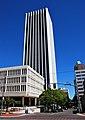 Wells Fargo Center from 6th & Columbia - Portland, Oregon (2014).jpg