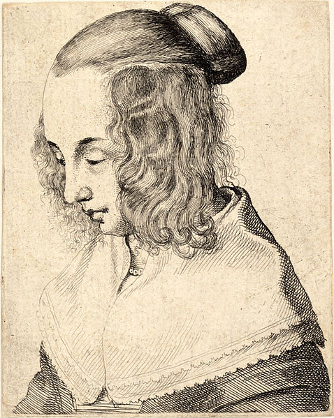 File:Wenceslas Hollar - Young woman with side curls 2.jpg