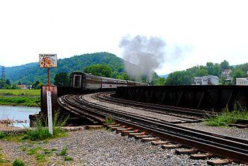Western Maryland Scenic Railway steam engine h...